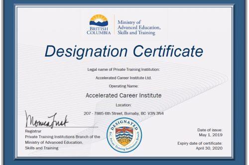 Designated certificate